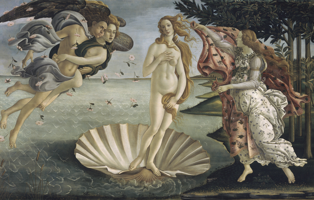 Stock Photo: 263-698 The Birth of Venus 