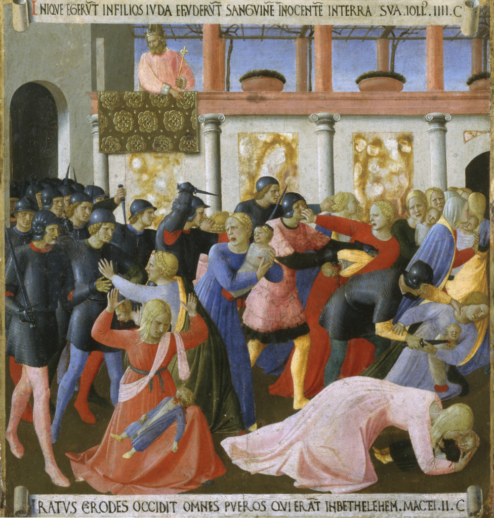 The Story of the Life of Christ Detail: Massacre of the Innocents