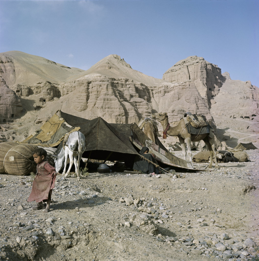 Nomad Camp Afghanistan : Stock Photo