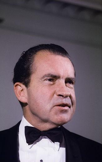 Richard Milhous Nixon, 37th President of the United States, (1913-1994), USA : Stock Photo
