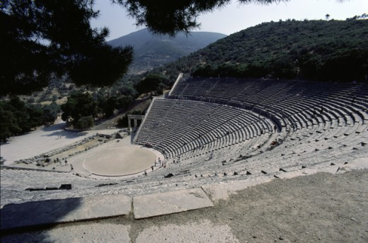 Stock Photo: 2845-103 Ancient Theater