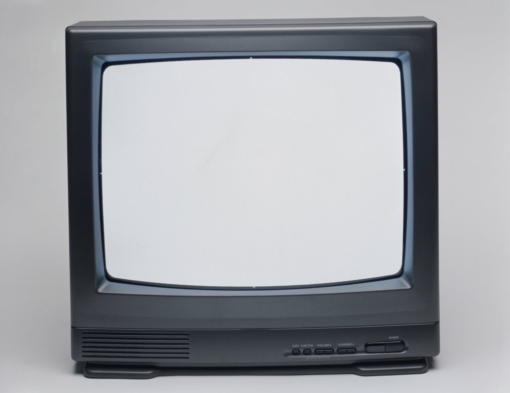 Stock Photo: 291-1535E Close-up of a television