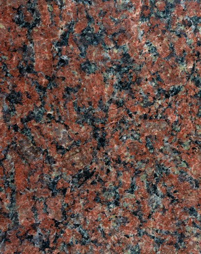 Stock Photo: 295-255B Close-up of Red Sierra Chica granite