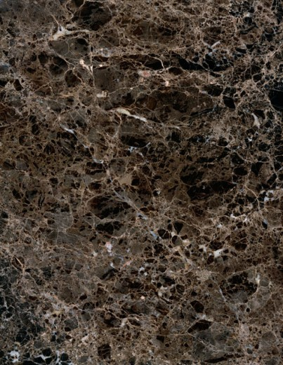 Stock Photo: 295-261A Close-up of Emperador Dark marble