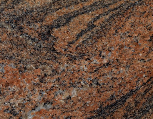 Close-up of Juparana granite : Stock Photo