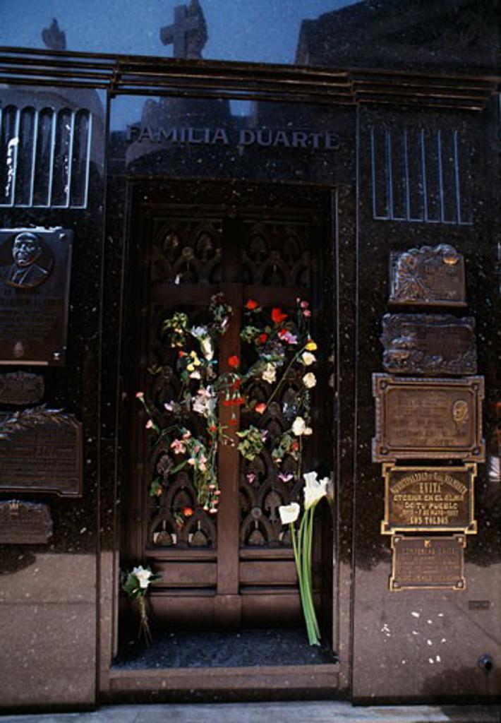 Tomb of Eva Peron Buenos Aires Argentina : Stock Photo