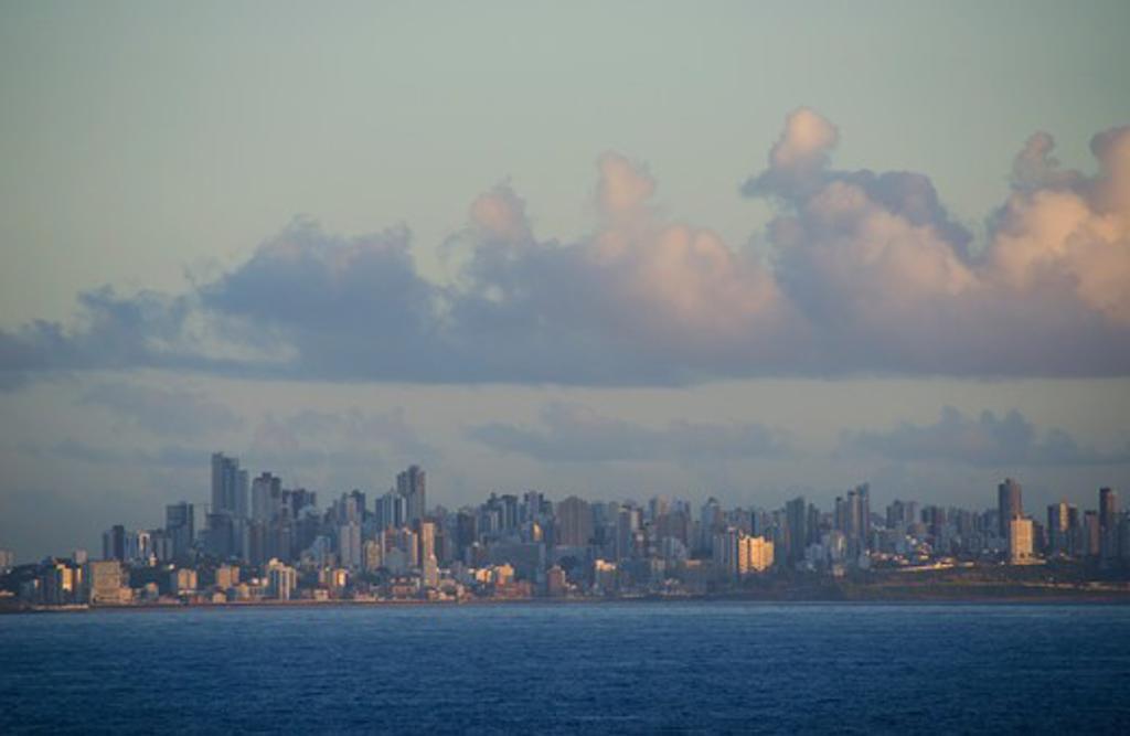 Stock Photo: 3138-537401 City skyline, Salvador, Bahia, Brazil