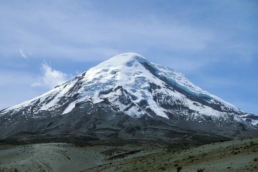 ecuador, cotopaxi volcano : Stock Photo