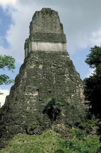 Stock Photo: 3153-574358 guatemala, tikal