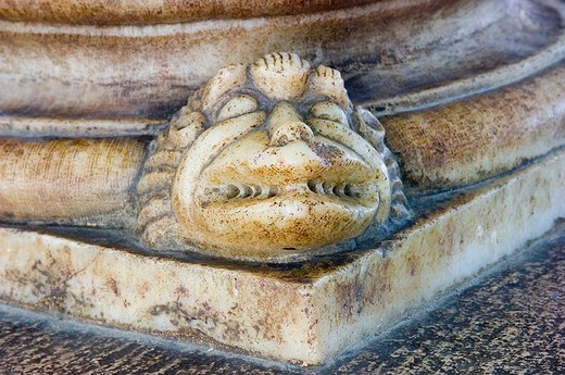 europe, italy, basilicata, acerenza, cathedral, close up : Stock Photo