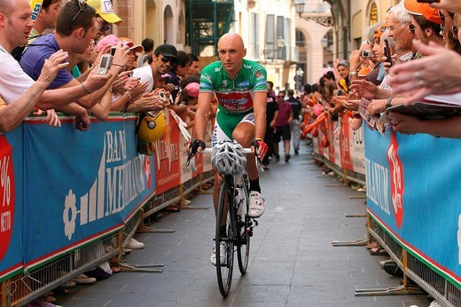 stefano garzelli, 92nd giro d´italia, 17th stage chieti_blockhaus : Stock Photo