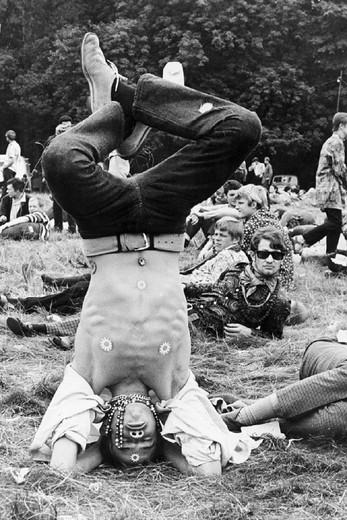 hippie, 1970 : Stock Photo