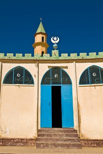 Stock Photo: 3153-581184 moschea, keren, eritrea