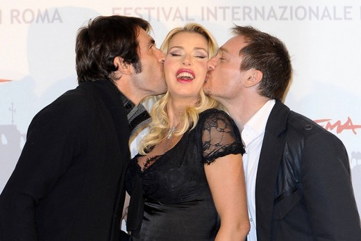 christian molina, valeria marini, ben temple, festival internazionale del film di roma : Stock Photo