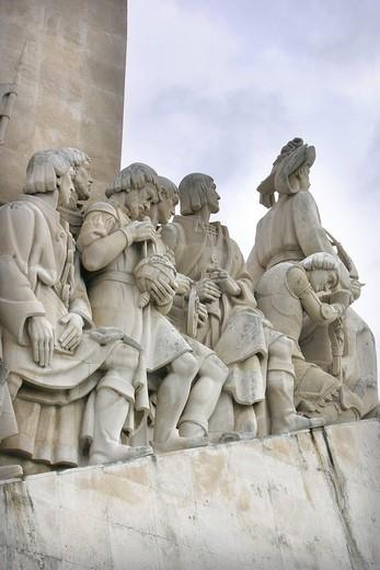 Stock Photo: 3153-582516 monumento alle scoperte, lisbona, portogallo