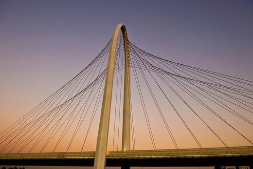 Stock Photo: 3153-583147 Calatrava bridge, Reggio Emilia, Italy