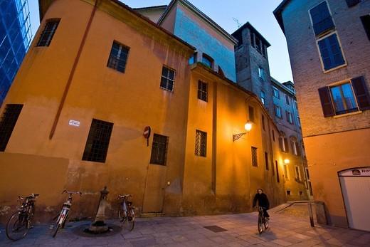 Mario Molinari square, Modena, Emilia Romagna, Italy : Stock Photo