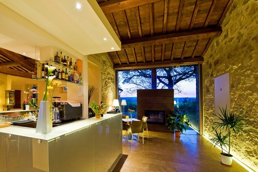 country house il fontanile, montecchio, umbria, italia : Stock Photo