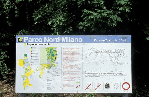 north milan park/parco nord milano, bresso cinisello, italy : Stock Photo
