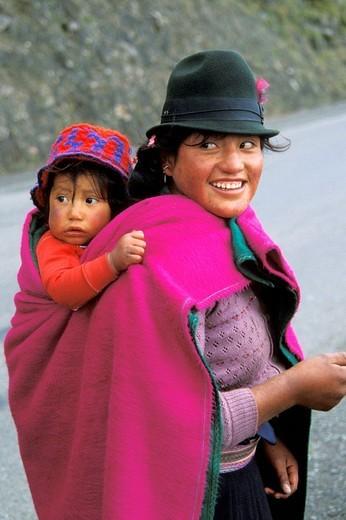 ecuador, portrait : Stock Photo