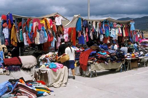 ecuador, quito, market : Stock Photo