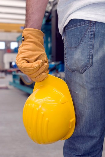 worker, close up : Stock Photo