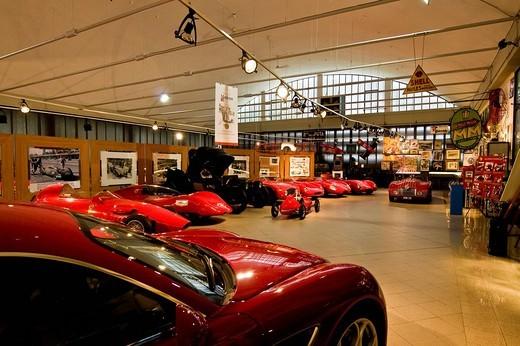 Stock Photo: 3153-592356 museo dell´auto storica stanguellini, modena, emilia romagna, italy