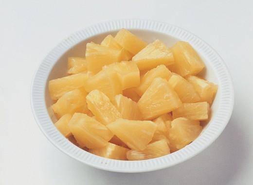 Stock Photo: 3153-592787 pineapple, food