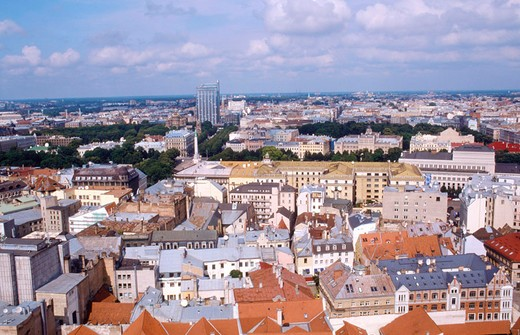 Stock Photo: 3153-593570 europe, latvia, riga, landscape