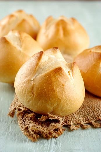 italian bread, cioppa : Stock Photo