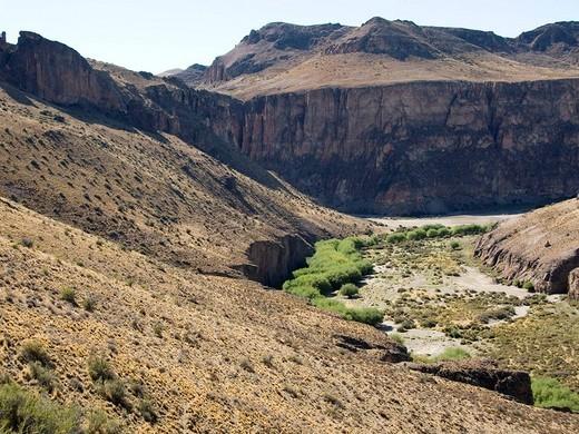Stock Photo: 3153-594027 south america, patagonia argentina, cuevas de las manos