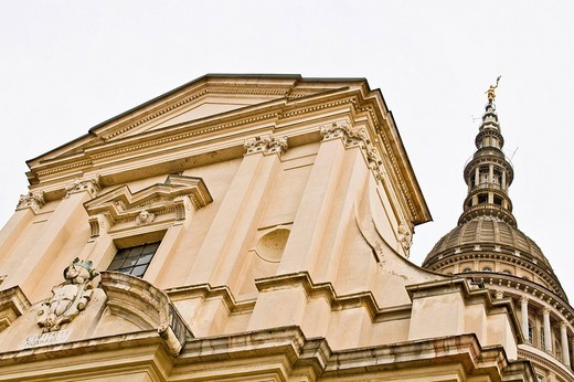 Stock Photo: 3153-594456 san gaudenzio church, novara, piedmont, italy