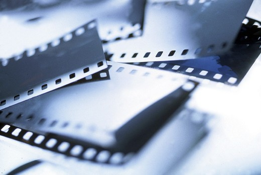 Stock Photo: 3153-600505 films, detail