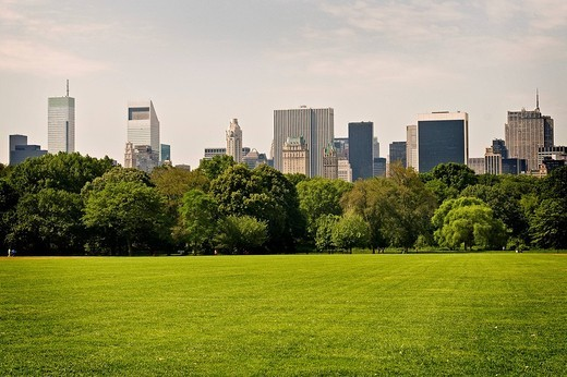 Stock Photo: 3153-602130 central park, manhattan, new york city, usa