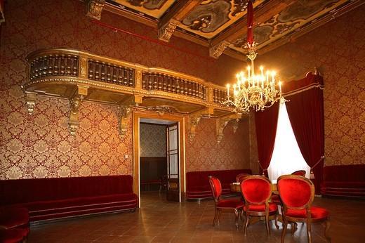 Stock Photo: 3153-602400 teatro verdi, busseto, emilia romagna, italia