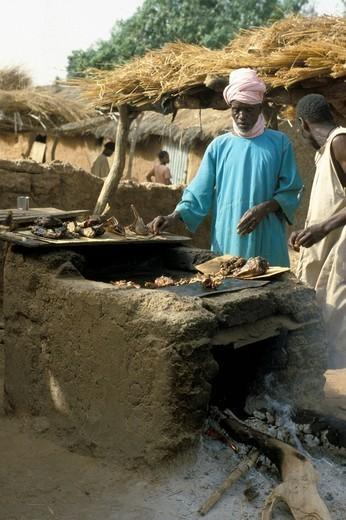Stock Photo: 3153-602918 mali, tonga, daily life