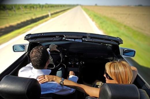 couple, car : Stock Photo