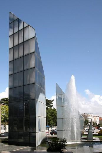 boavista district, porto, portugal : Stock Photo