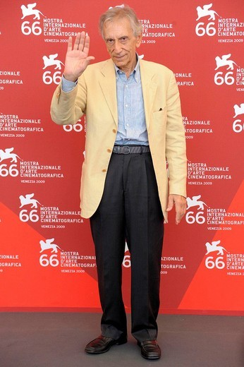 roberto herlitzka, venice 2009, 66th venice film festival : Stock Photo