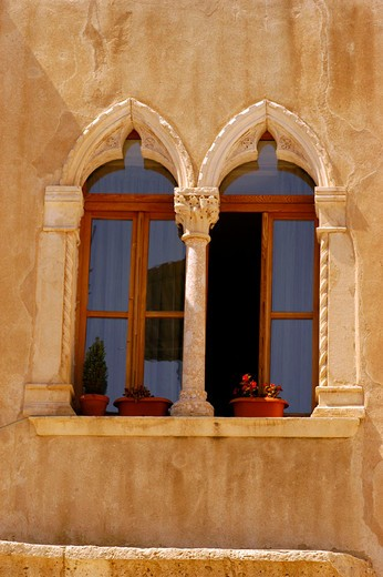 europe, croatia, split, window : Stock Photo