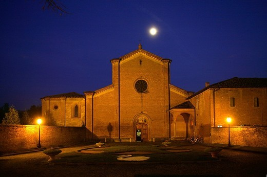 s.maria degli angeli 1474, busseto, emilia romagna, italia : Stock Photo