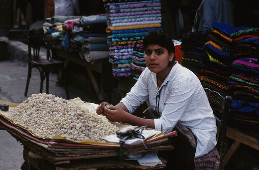 egypt, cairo, market in kan el kalili area : Stock Photo