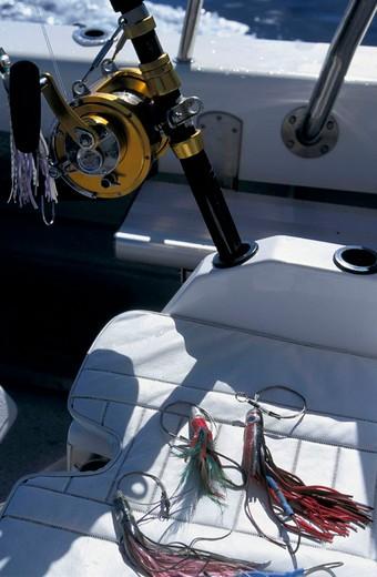 deep-sea fishing : Stock Photo