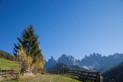 Stock Photo: 3153-611827 funes valley, santa maddalena, trentino alto adige, italy