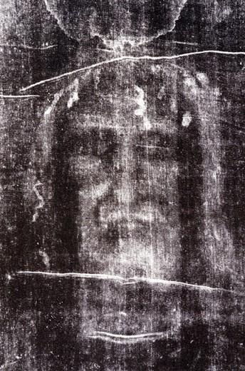 holy picture:holy shroud, studio, italy : Stock Photo