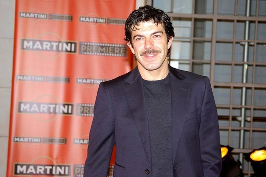 pierfrancesco favino,milan 15_10_2008 ,martini premiere award,photo marco becker/markanews : Stock Photo