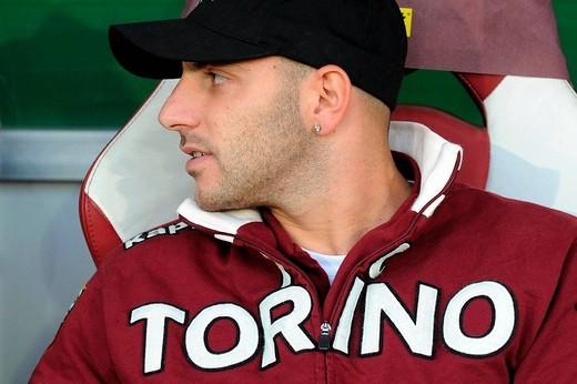 alessandro rosina,torino 08_11_2008 ,italian soccer championship,torino_palermo 1_0 ,photo giuliano marchisciano/markanews : Stock Photo