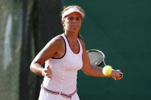 varvara lepchenko, palermo 2009, wta tennis international open championship : Stock Photo