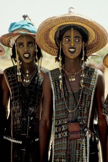 niger, gerewol, surrounding of abalak : Stock Photo