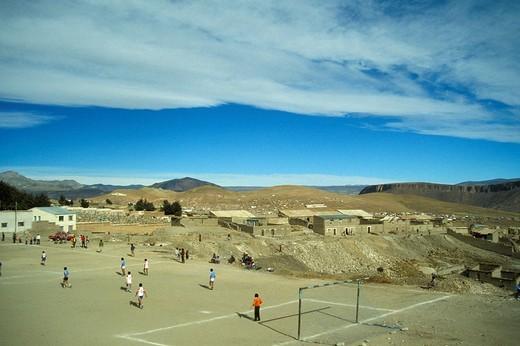 bolivia, la paz, daily life : Stock Photo